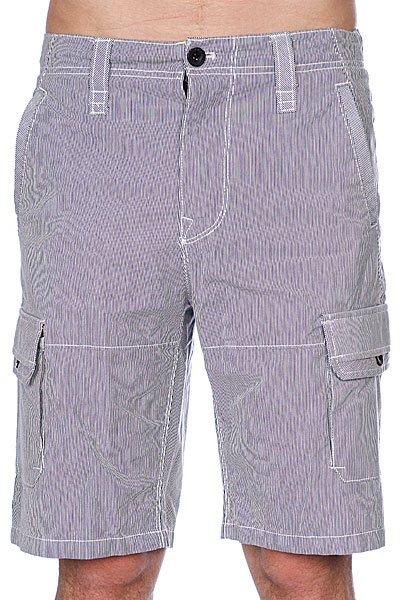 Классические мужские шорты Zoo York Dwell Cargo Navy<br><br>Цвет: белый,синий<br>Тип: Шорты классические<br>Возраст: Взрослый<br>Пол: Мужской