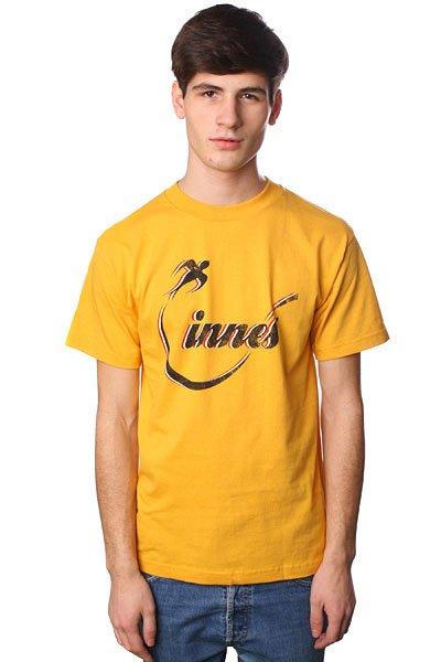 Футболка Innes Flighted Mustard<br><br>Цвет: желтый<br>Тип: Футболка<br>Возраст: Взрослый<br>Пол: Мужской