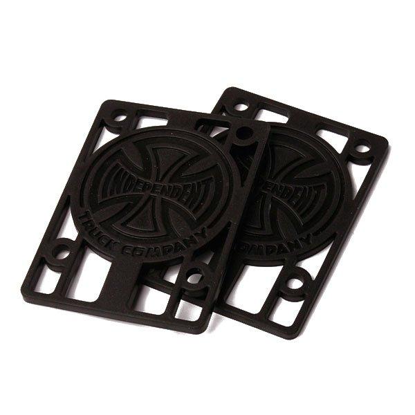 Подкладки для скейтборда Independent 1/8 Riser (2 Pack)Комплект из 2 штук.<br><br>Тип: Подкладки