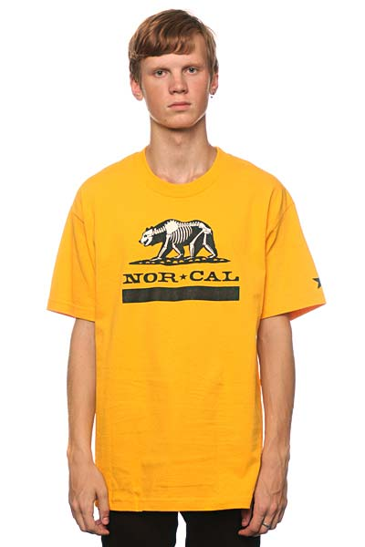 Футболка Nor Cal Ursus Gold<br><br>Цвет: желтый<br>Тип: Футболка<br>Возраст: Взрослый<br>Пол: Мужской