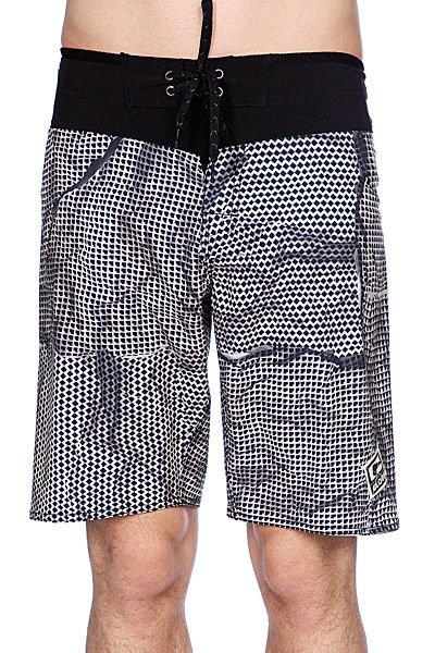 Пляжные мужские шорты Globe Lawless Boardshort Black<br><br>Цвет: черный,белый<br>Тип: Шорты пляжные<br>Возраст: Взрослый<br>Пол: Мужской