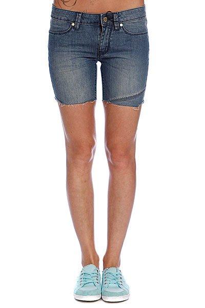 Шорты джинсовые женские Insight Drunk N Disorderly Vintage Heavy Stone<br><br>Цвет: синий<br>Тип: Шорты джинсовые<br>Возраст: Взрослый<br>Пол: Женский
