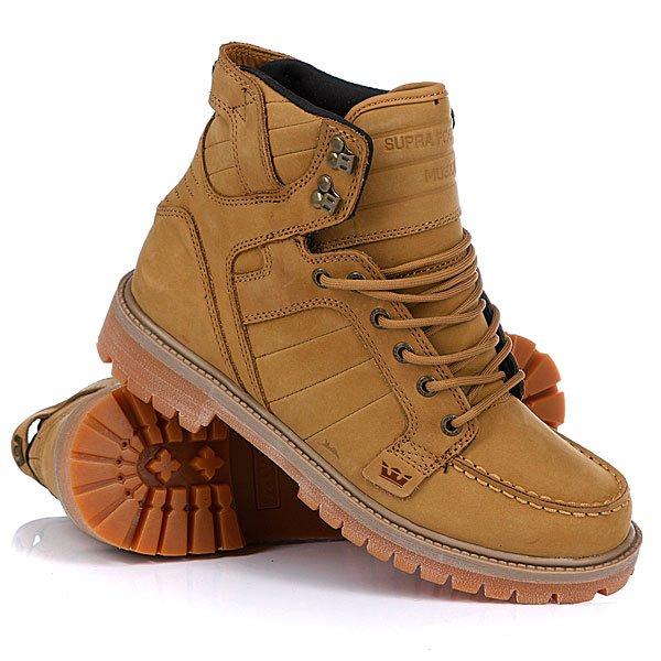 Купить Ботинки зимние Supra Skyboot White/Gum в интернет-магазине женской, мужской и детской одежды и обуви
