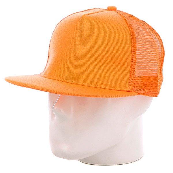 Бейсболка с сеткой True Spin 5 Panel Trucker Neon/Orange<br><br>Цвет: оранжевый<br>Тип: Бейсболка с сеткой<br>Возраст: Взрослый