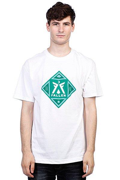 Футболка Fallen Haven White/Emerald Green<br><br>Цвет: белый<br>Тип: Футболка<br>Возраст: Взрослый<br>Пол: Мужской