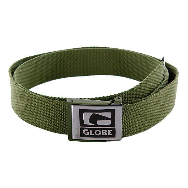 Ремень Globe Redman Belt Willow<br><br>Цвет: зеленый<br>Тип: Ремень<br>Возраст: Взрослый<br>Пол: Мужской