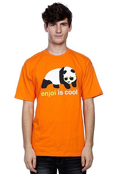 Футболка Enjoi Cool Orange<br><br>Цвет: оранжевый<br>Тип: Футболка<br>Возраст: Взрослый<br>Пол: Мужской