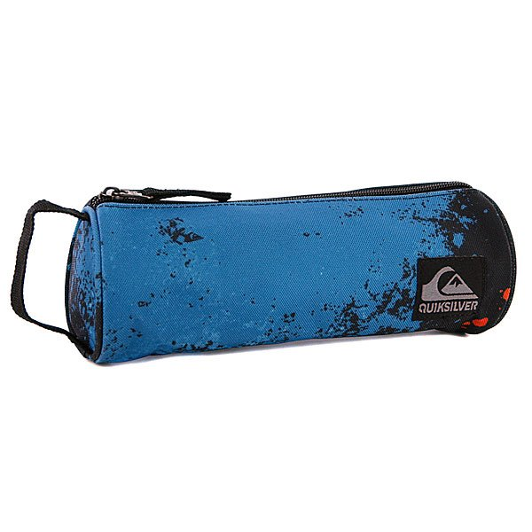 Пенал Quiksilver Pencil B Blast Master X6 Neon Blue - ПодарокВместительный пенал поможет сохранить все ваши принадлежности в полном порядке.Характеристики:Верх из полиэстера. Основное отделение на молнии. Тонкая ручка.<br><br>Цвет: черный,синий<br>Тип: Пенал