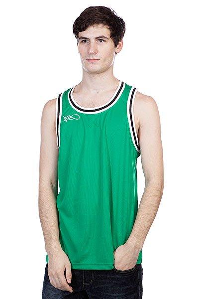 Майка K1X Hardwood Double Jersey Green/White<br><br>Цвет: зеленый,черный<br>Тип: Майка<br>Возраст: Взрослый<br>Пол: Мужской