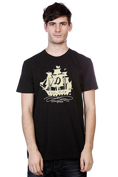 Футболка Dekline Sailin On Black<br><br>Цвет: черный<br>Тип: Футболка<br>Возраст: Взрослый<br>Пол: Мужской