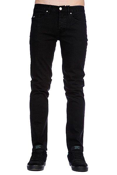 Джинсы узкие Circa Select Slim Denim Black Overdye<br><br>Цвет: черный<br>Тип: Джинсы узкие<br>Возраст: Взрослый<br>Пол: Мужской