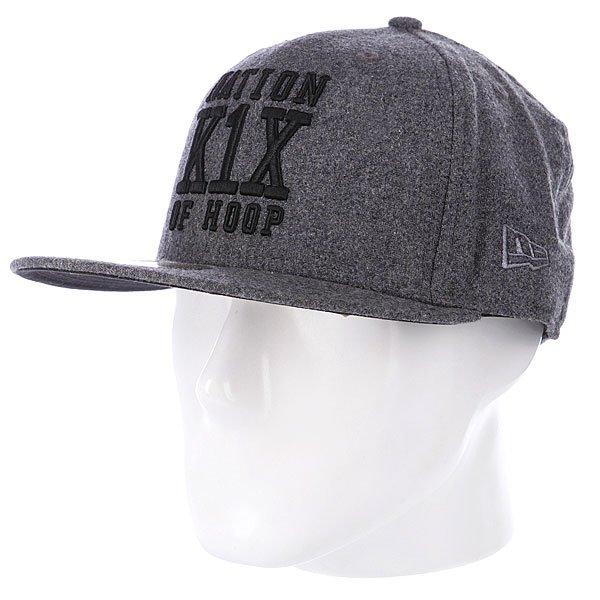 Бейсболка New Era K1X Noh Wool NewEra Grey<br><br>Цвет: серый<br>Тип: Бейсболка с прямым козырьком<br>Возраст: Взрослый