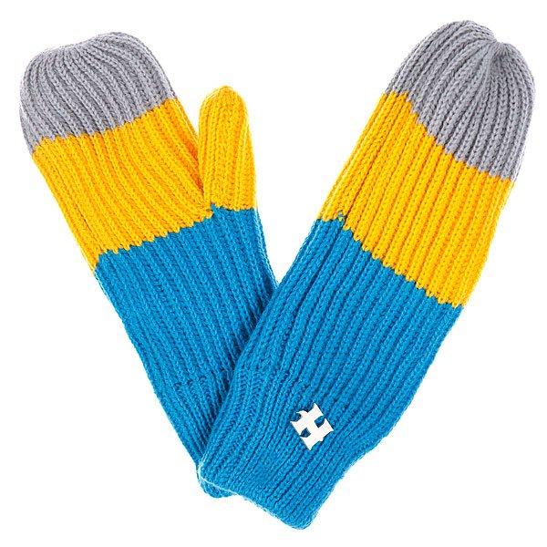Варежки женские Harrison Beatrice Gloves Yellow/Blue/GreyВязаные варежки Harrison подарят тепло вашим пальцам. Приобретайте поскорее, холода уже не за горами. Характеристики:Материал: акрил. Эластичные манжеты.<br><br>Цвет: желтый,серый,синий<br>Тип: Варежки<br>Возраст: Взрослый<br>Пол: Женский