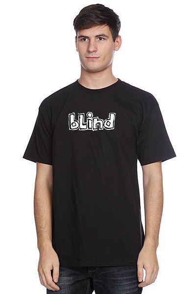 Футболка Blind Og Logo Black/Grey<br><br>Цвет: черный<br>Тип: Футболка<br>Возраст: Взрослый<br>Пол: Мужской