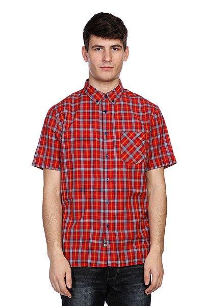 Рубашка в клетку Element Sutton Ss Jester Red<br><br>Цвет: красный<br>Тип: Рубашка в клетку<br>Возраст: Взрослый<br>Пол: Мужской