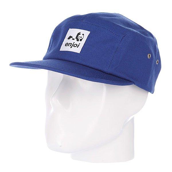 Бейсболка пятипанелька Enjoi Unoriginal Royal<br><br>Цвет: синий<br>Тип: Бейсболка пятипанелька<br>Возраст: Взрослый