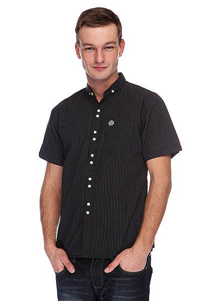 Рубашка Santa Cruz Firm Black Pinstripe<br><br>Цвет: черный<br>Тип: Рубашка<br>Возраст: Взрослый<br>Пол: Мужской