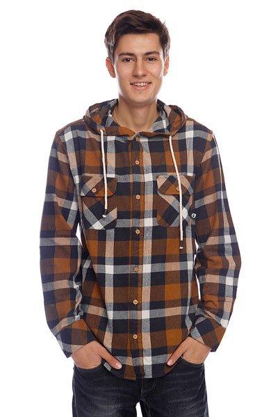 Рубашка в клетку Picture Organic Salt Brown<br><br>Цвет: коричневый<br>Тип: Рубашка в клетку<br>Возраст: Взрослый<br>Пол: Мужской