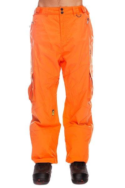 Штаны сноубордические Apo Master Loose Hot CorralТеплые штаны Apo Master Loose обеспечат комфорт во время занятий сноубордом и защиту от холода. В таких брюках Вы не станете отвлекаться на свой внешний вид и сможете сконцентрироваться на катании, вращениях и сложных трюках. Технические характеристики: Артикуляционные вставки.Вентиляционные отверстия на молнии.Регулировка талии.Карманы для рук на молнии.Задний карман.Боковые карманы - карго.Края штанин на молнии.Фасон - стандартный (Regular Fit).<br><br>Цвет: оранжевый<br>Тип: Штаны сноубордические<br>Возраст: Взрослый<br>Пол: Мужской
