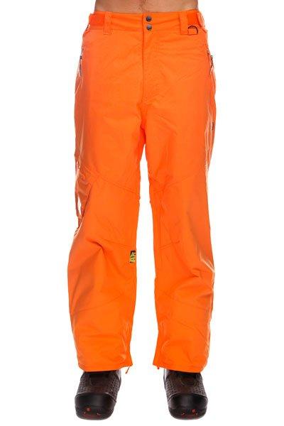 Штаны сноубордические Apo Skid Regular Hot CorralТеплые  штаны Apo Skid Regular  обеспечат комфорт во время занятий сноубордом и защиту от холода. В таких брюках Вы не станете отвлекаться на свой внешний вид и сможете сконцентрироваться на катании, вращениях и сложных трюках. Технические характеристики: Артикуляционные вставки.Вентиляционные отверстия на молнии.Регулировка талии.Карманы для рук на молнии.Задние карманы.Боковой карман.Края штанин на молнии.Фасон - стандартный (Regular Fit).<br><br>Цвет: оранжевый<br>Тип: Штаны сноубордические<br>Возраст: Взрослый<br>Пол: Мужской