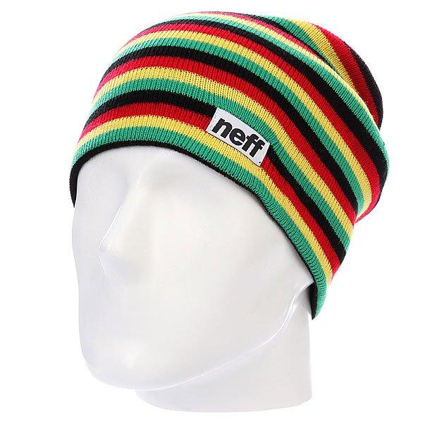 Шапка Neff Duo Stripe Rasta<br><br>Цвет: мультиколор<br>Тип: Шапка<br>Возраст: Взрослый<br>Пол: Мужской