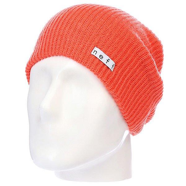 Шапка Neff Daily Neon Coral<br><br>Цвет: оранжевый<br>Тип: Шапка<br>Возраст: Взрослый