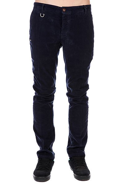 Штаны прямые K1X Corduroy Chino Pant Blue<br><br>Цвет: синий<br>Тип: Штаны прямые<br>Возраст: Взрослый<br>Пол: Мужской