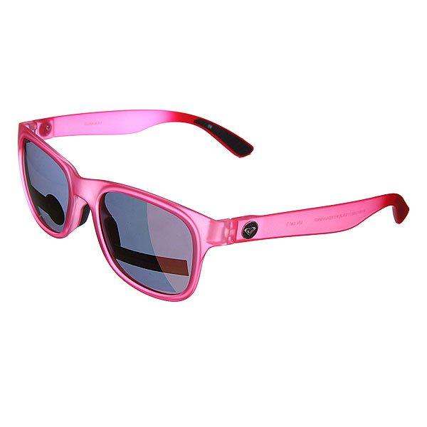 Очки женские Roxy Runaway J Pink/Ml PurpleУльтра тонкие очки в сочном цвете.Технические характеристики: Мягкие сменные носовые упоры Megol®.Сменные дужки.Прочные линзы из поликарбоната.Покрытие против царапин.100% защита от ультрафиолетовых лучей.Линзы от Carl Zeiss Vision.<br><br>Цвет: розовый,фиолетовый<br>Тип: Очки<br>Возраст: Взрослый<br>Пол: Женский