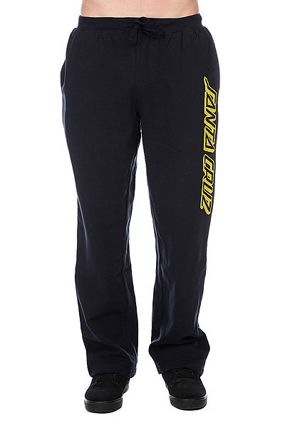 Штаны широкие Santa Cruz Classic Strip Sweat Pant Navy<br><br>Цвет: синий<br>Тип: Штаны спортивные<br>Возраст: Взрослый<br>Пол: Мужской