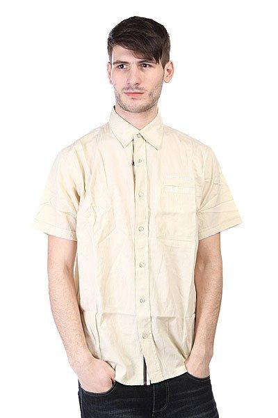 Рубашка Animal Satang Mid Fit Beige<br><br>Цвет: бежевый<br>Тип: Рубашка<br>Возраст: Взрослый<br>Пол: Мужской