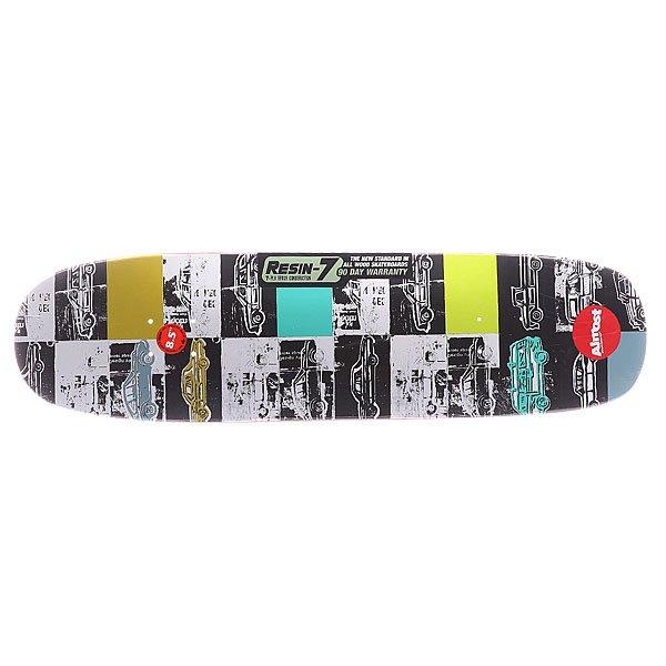 Дека для скейтборда для скейтборда Almost S5 Lotti Auto Mo R7 Multicolor 31.9 x 8.5 (21.6 см)Ширина деки: 8.5 (21.6 см)    Длина деки: 31.9 (81 см)    Количество слоев: 7<br><br>Цвет: мультиколор<br>Тип: Дека для скейтборда<br>Возраст: Взрослый<br>Пол: Мужской