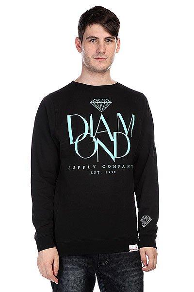 Толстовка Diamond Parisian Crewneck Black футболка greg horman цвет черный