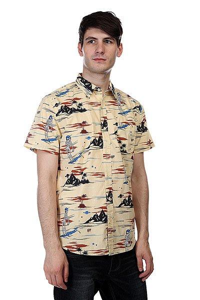 Neff Astro Death Beach Yellow<br><br>Цвет: бежевый<br>Тип: Рубашка<br>Возраст: Взрослый<br>Пол: Мужской