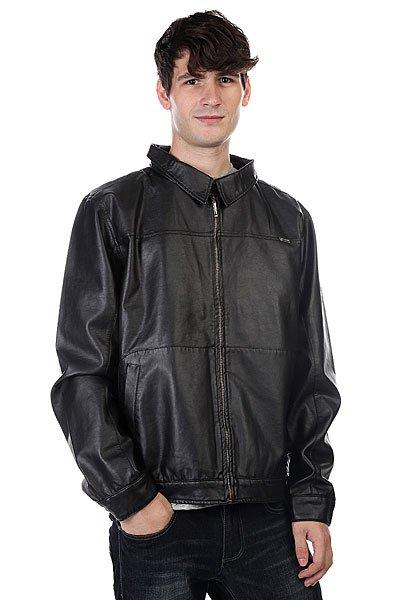 Куртка кожаная Globe Dean Jacket BlackМодная кожаная куртка от стильного бренда Globe.Характеристики:Внутренняя стеганая подкладка. Внутренний потайной карман.Классический воротник. Застежка – молния. Два боковых кармана<br><br>Цвет: черный<br>Тип: Куртка кожаная<br>Возраст: Взрослый<br>Пол: Мужской