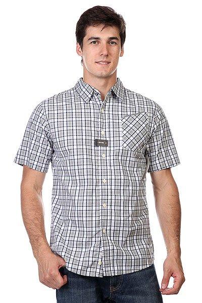 Рубашка в клетку Zoo York Enew15 Disciple Gargoyle<br><br>Цвет: зеленый,синий,белый<br>Тип: Рубашка в клетку<br>Возраст: Взрослый<br>Пол: Мужской