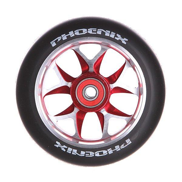 Колесо для самоката Phoenix F8 Alloy Core Wheel 110mm With Abec 9 Bearings Red/BlackPhoenix<br><br>Цвет: черный,красный,серый<br>Тип: Колесо для самоката