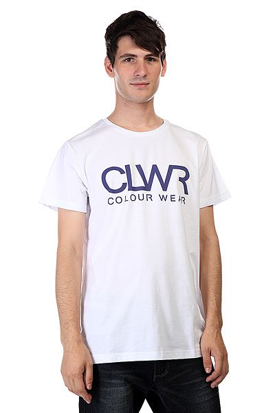 Футболка CLWR Tee White<br><br>Цвет: белый<br>Тип: Футболка<br>Возраст: Взрослый<br>Пол: Мужской