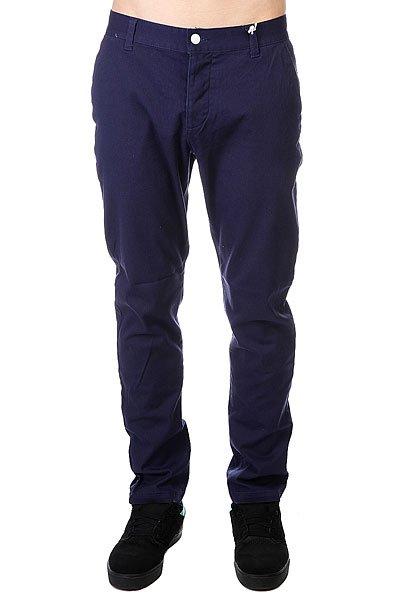 Штаны прямые CLWR Chino Patriot Blue<br><br>Цвет: синий<br>Тип: Штаны прямые<br>Возраст: Взрослый<br>Пол: Мужской