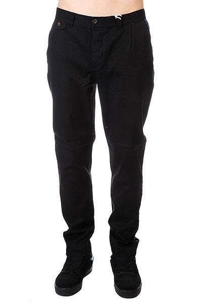 Штаны прямые CLWR Gubb Chino Black<br><br>Цвет: черный<br>Тип: Штаны прямые<br>Возраст: Взрослый<br>Пол: Мужской
