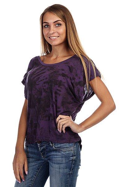 Топ женский  Insight Woodstock Tee Deep Violet<br><br>Цвет: фиолетовый<br>Тип: Топ<br>Возраст: Взрослый<br>Пол: Женский
