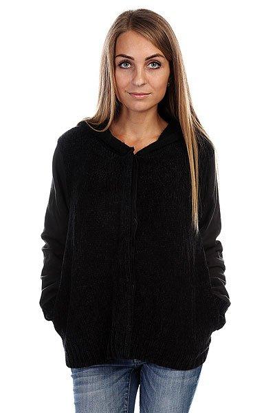 Толстовка женская утепленная Insight Chenille Jacket Floyd Black<br><br>Цвет: черный<br>Тип: Толстовка утепленная<br>Возраст: Взрослый<br>Пол: Женский
