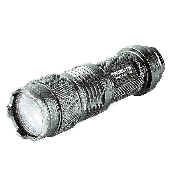 Фонарь True Utility Truelite Mini 0.7w Tu102 GreyНовый высокопроизводительный светодиодный луч с режимом энергосбережения. Инновационная линза была разработана специально для установки на источник света от светодиода. Фонари линейки TrueLite® отличаются мощным светодиодным лучом, отражателем высокой чистоты и управлением питания для регулировки яркости.В фонариках этой линейки используются аккумуляторные батареи с повышенным ресурсом. Фонари этого модельного ряда разработаны для профессионального и бытового использования. Они будут служить своему владельцу верой и правдой долгие годы. Технические характеристики: ЯРКОСТЬ 50лм+.МАКС.МОЩНОСТЬ 0,7Вт. ВХОД Кремниевый кристалл 450МА. ВРЕМЯ РАБОТЫ 100% = 1,5ч; 30%=4,5ч. АККУМУЛЯТОРЫ 1 x AAA. РАЗМЕР Д=7,9см ?=2,3см. МАТЕРИАЛ: анодированный авиационный алюминий. Включение/выключение посредством поворота корпуса, высококачественные неопреновые уплотнительные кольца по всему корпусу для обеспечения водонепроницаемости, защитное приспособление для линзы.<br><br>Цвет: серый<br>Тип: Разное