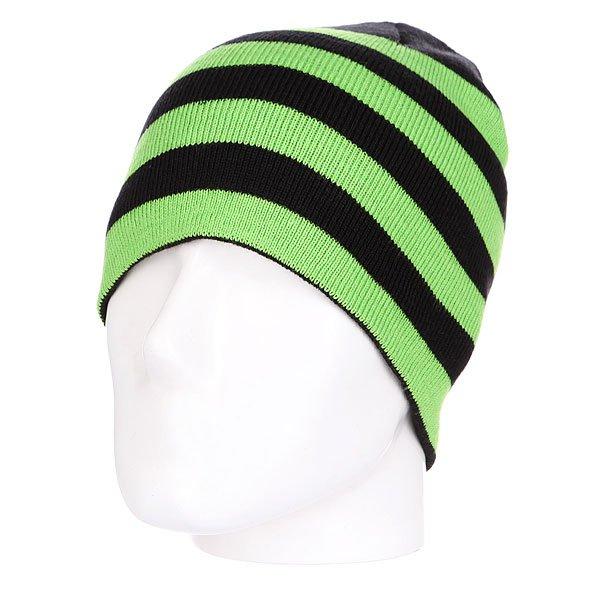Шапка Urban Classics Stripe Beanie Black-limegreenШапка носок Urban Classics Stripe Beanie – это комфорт и тепло для вашей головы.Характеристики:   Изготовлена из 100% акрила.<br><br>Цвет: черный,зеленый<br>Тип: Шапка<br>Возраст: Взрослый<br>Пол: Мужской