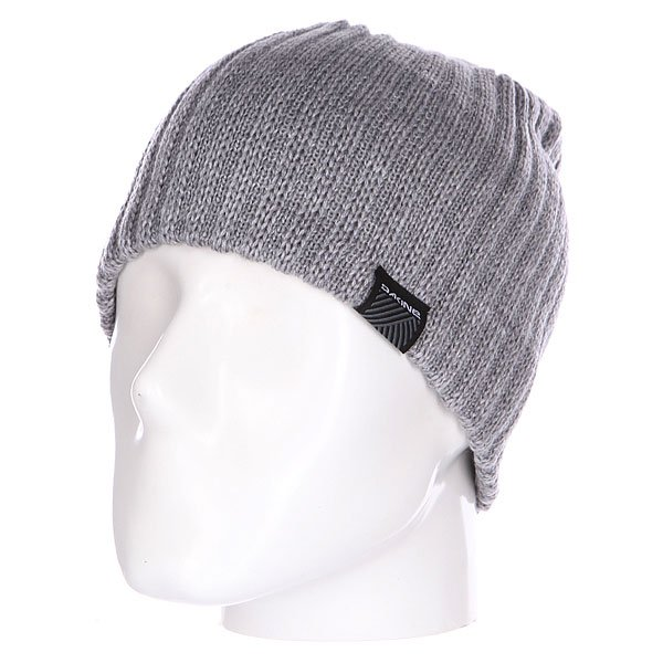 Шапка Dakine Vert Rib Grey<br><br>Цвет: серый<br>Тип: Шапка<br>Возраст: Взрослый<br>Пол: Мужской