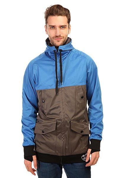 Толстовка сноубордическая Shweyka Fur Hoodie Turquoise/Black<br><br>Цвет: белый,серый<br>Тип: Толстовка сноубордическая<br>Возраст: Взрослый<br>Пол: Мужской