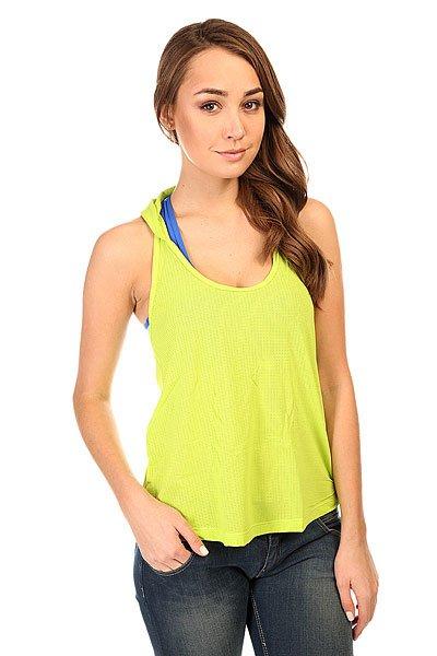 Майка женская CajuBrasil Sprinter T-Shirt Green<br><br>Цвет: зеленый<br>Тип: Майка<br>Возраст: Взрослый<br>Пол: Женский