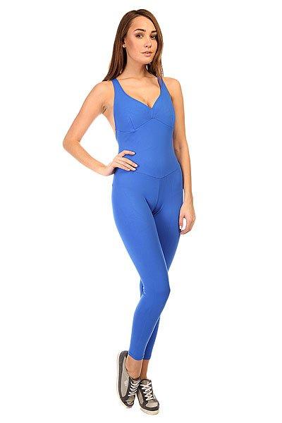 Комбинезон для фитнеса женский CajuBrasil New Zealand Overall Blue<br><br>Цвет: синий<br>Тип: Комбинезон для фитнеса<br>Возраст: Взрослый<br>Пол: Женский
