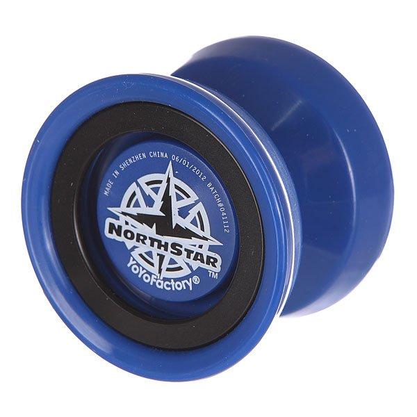 Йо-йо Aero-Yo NorthStar Blue/BlackМодель йойо, созданная при участии Дженсена Киммита (Чемпиона Мира 2010-го года) с расчётом под его уникальный стиль игры. Идеально сбалансированный вес и форма позволили вывести игровые качества модели на небывалый, для композитных йо-йо, уровень. Йо-йо Northstar будет отличным выбором для профессионала и игрока среднего уровня.Технические характеристики: Материал - композит.Подшипник - C Size Center Trac (с канавкой).Тормоза - CBC Large Bearing Slim Pad (Standart K-Pad).Веревка.<br><br>Цвет: черный,синий<br>Тип: Йо-йо