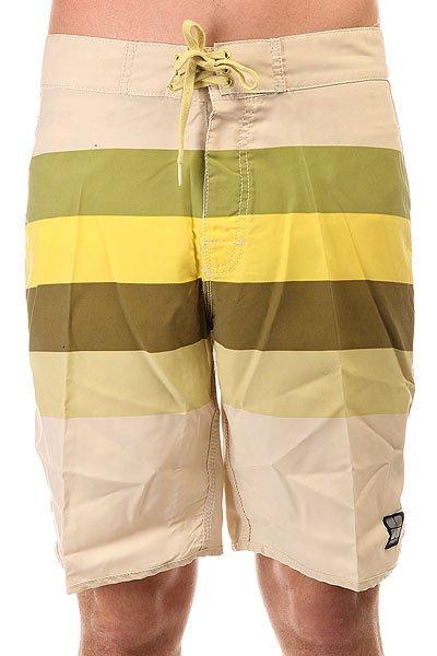 Шорты пляжные Insight Retro Stud Regular Dirty Sun<br><br>Цвет: бежевый,желтый,зеленый<br>Тип: Шорты пляжные<br>Возраст: Взрослый<br>Пол: Мужской