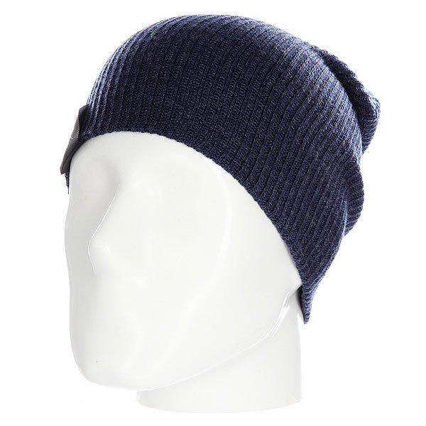 Шапка носок Les All Day JeansОднотонная шапка - носок идеально сочетает стильный современный дизайн и практичность, так как она позволяет менять фасон в зависимости от настроения.Технические характеристики: Материал - акрил.Мелкая вязка.Удлиненная макушка.Текстильный ярлычок с логотипом.Шапку можно носить как с отворотом, так и без него.<br><br>Цвет: синий<br>Тип: Шапка носок<br>Возраст: Взрослый<br>Пол: Мужской